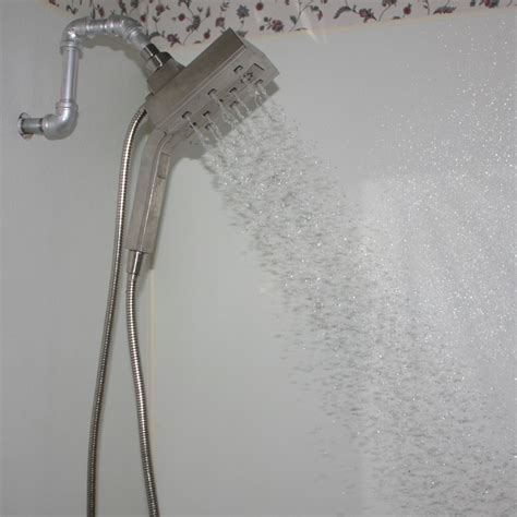 Delta Shower by Delta Shower In2ition Two In One Shower Arm Mounted