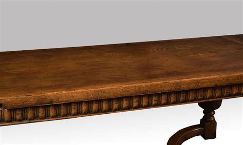 Dining Table With Drawers Uk by Oak Drawer Leaf Refectory Dining Table 321435