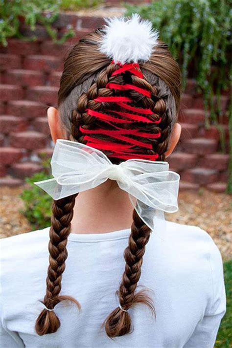christmas tree hairstyle for girls 15 creative themed hairstyle ideas 2015 tree hairstyles modern fashion