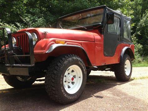1973 Cj5 Jeep Sell Used 1973 Cj5 Jeep In Leesville Louisiana United