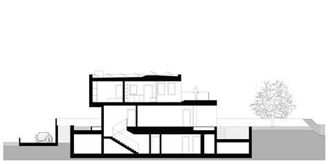 sectional house gallery of m2 house monovolume architecture design 28