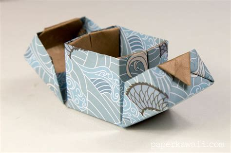Origami Ring Box - origami hinged box tutorial the gap wedding ring
