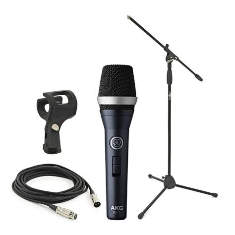 Stand Microphone Vocal akg d5 c s dynamic vocal mic with stand and cable at