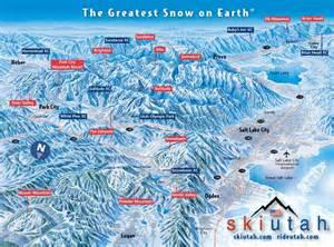 Utah Ski Resorts Map by Alfa Img Showing Gt Salt Lake City Skiing Packages