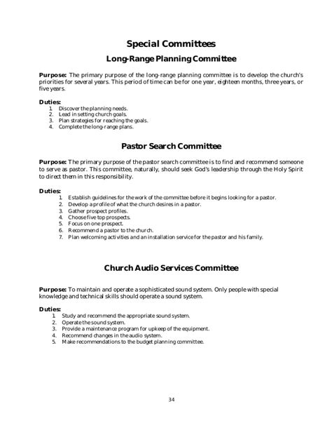 church nursery guidelines