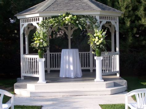 Wedding Gazebo Wedding Gazebos Wedding Gazebo With Flowers Wedding