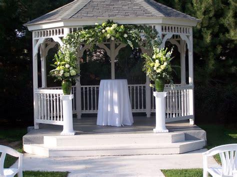 wedding gazebo wedding gazebos wedding gazebo with flowers wedding