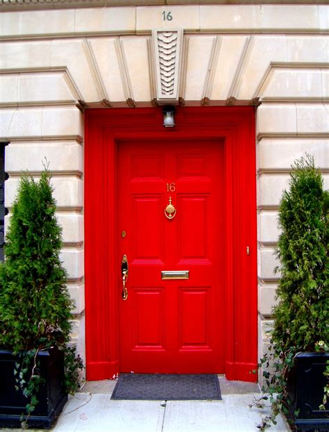 Red Door | david cobb craig red doors of the upper east side
