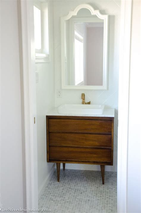 Modern Style Bathroom Vanities Best 25 Mid Century Bathroom Ideas On Mid Century Modern Bathroom Mid Century
