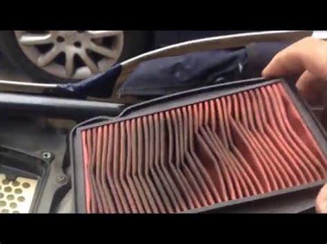 motosiklet hava filtresi degisimi youtube