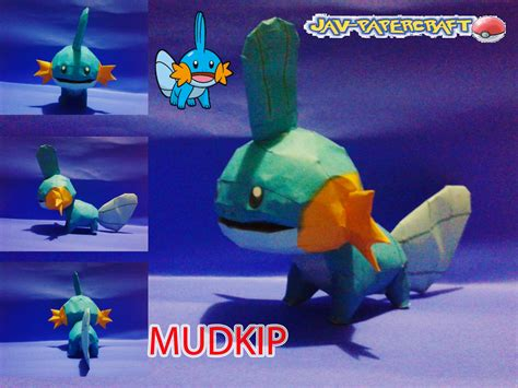 Mudkip Papercraft - mudkip papercraft finished by javierini on deviantart