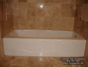bathtub tile ideas tub shower travertine shower ideas pictures