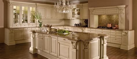 Narrow Kitchen Design With Island by Versailles De Luxe Lack Traditional Style K 252 Chen