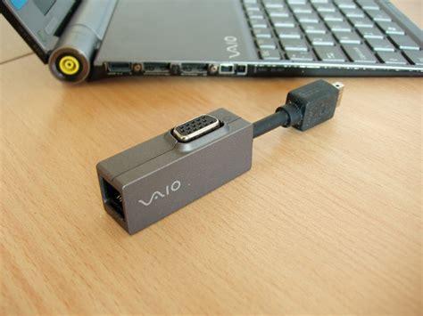 Vga Card Laptop Sony Vaio sony vga lan adapter for vaio type p