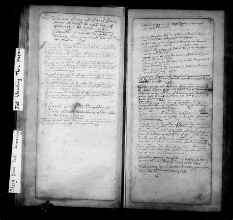 Record Of Births Genea Musings Treasure Chest Thursday 307 1714 Birth Record Of Mehitable Brown In