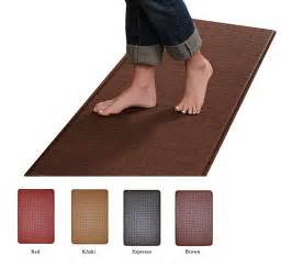 contemporary indoor cushion kitchen rug anti fatigue floor