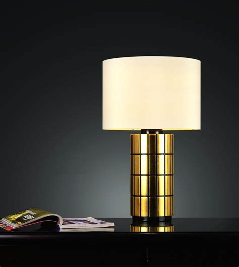Small Contemporary Best Bedside Table Lamp With Gold Stand