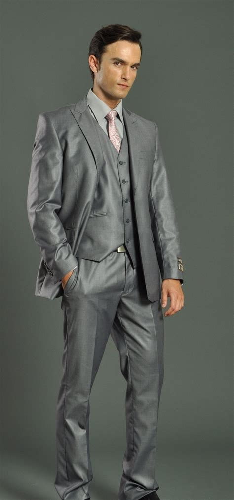 light gray fitted suits mens light grey slim fit suit dress yy