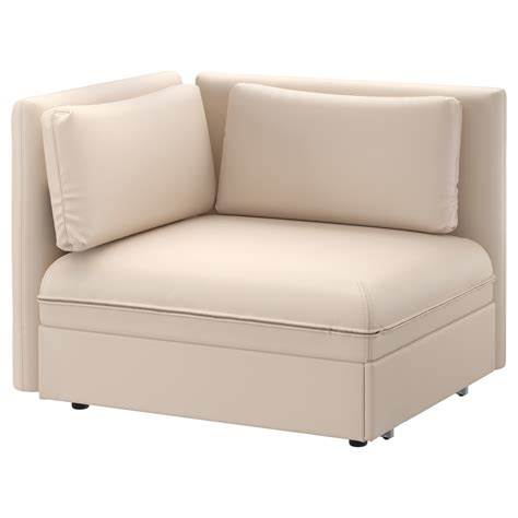 puff sofa ikea vallentuna seat module with bed and backrest murum beige