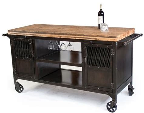 Kitchen Coffee Cart by Custom Made Industrial Home Bar Reclaimed Wood Coffee