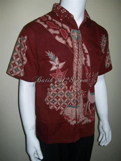 Batik Tenun Hem Berkarakter 100 Katun 1 hem batik tulis bahan katun halus ld115t toko batik 2018