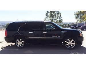 Cadillac Escalade For Sale 2014 Used 2014 Cadillac Escalade Esv Suv Limo Pleasanton