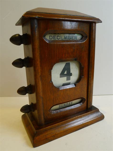 antique perpetual desk calendar antiques atlas antique english mahogany perpetual desk