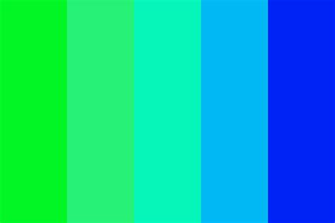 color blue green green blue color palette