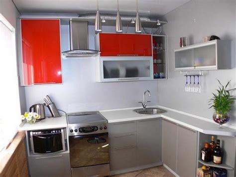 contemporary kitchen design ideas red kitchen