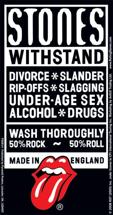 rolling stones withstand sticker sold  europosters