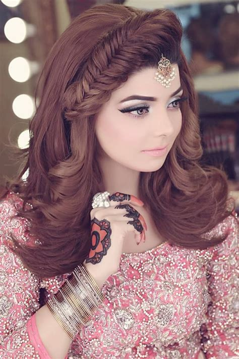hairstyles kashees kashee s beautiful bridal makeup hairstyle by kashif