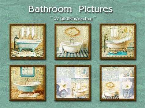 Bathroom Decor Objects Bathroom Pictures By Bildlichgesehen At Akisima 187 Sims 4