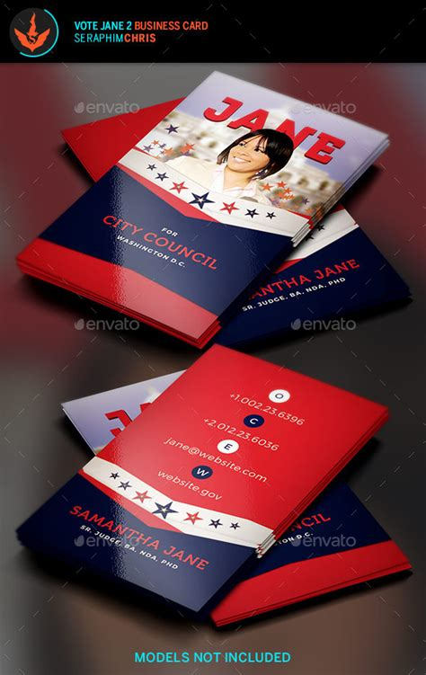 political caign business card templates vote 2 political business card template by