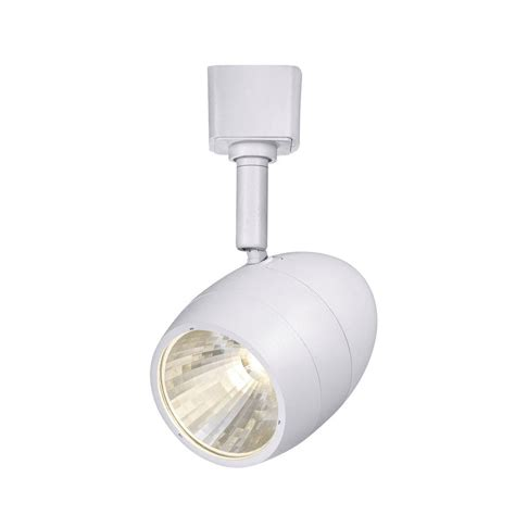 dimmable led track light bulbs maximus 5 5 in white led dimmable track lighting flood