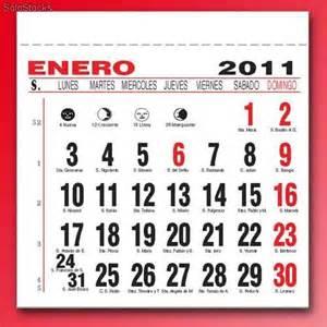 Calendario Con Santoral Calendario 2012 Con Semanas Imagui