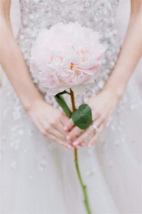 Unique Single Stem Flowers Wedding Single Flower Bouquet Long Stem Bouquets Instagram The