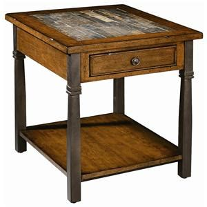 peters revington chairside table peters revington oslo one drawer chairside table