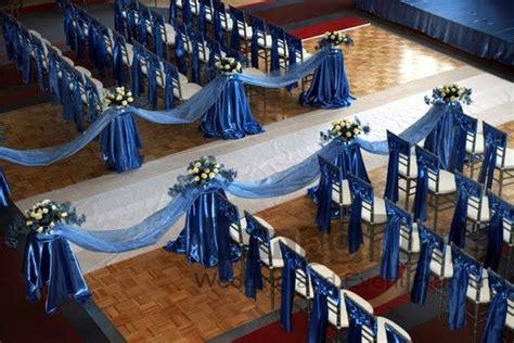 cornflower blue wedding decorations romantic decoration