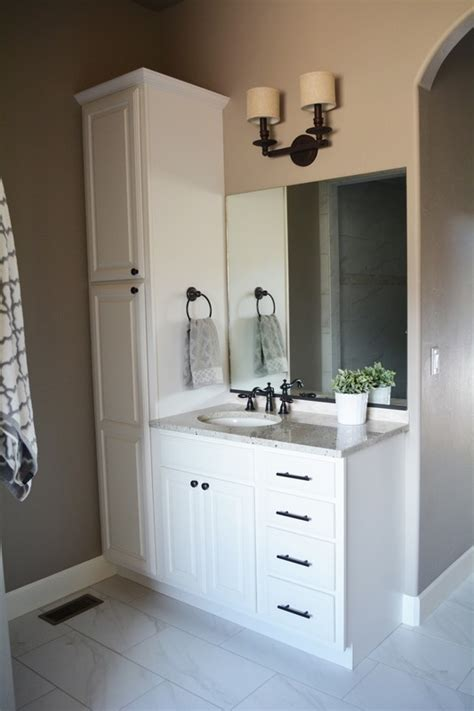 bathroom vanity and linen cabinet sets manicinthecity