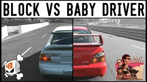 drive vs baby driver forza 7 ken block vs baby driver escort cosworth vs
