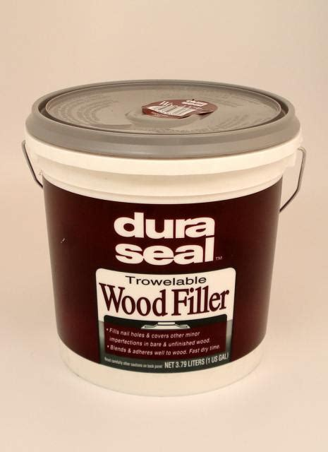 Dura Seal Maple Ash Pine Trowelable Wood Filler Gallon