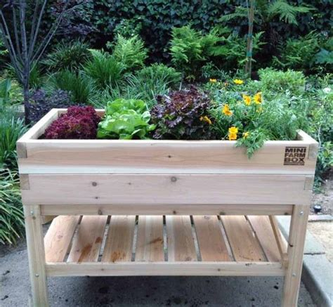 Elevated Garden Planters by 25 Best Ideas About Elevated Planter Box On