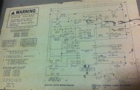 speed dryer wiring diagram