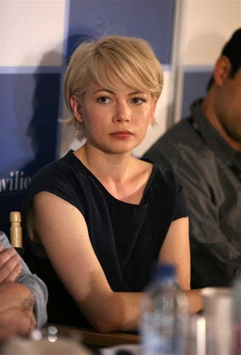 20 Michelle Williams Pixie Cuts   Short Hairstyles 2016