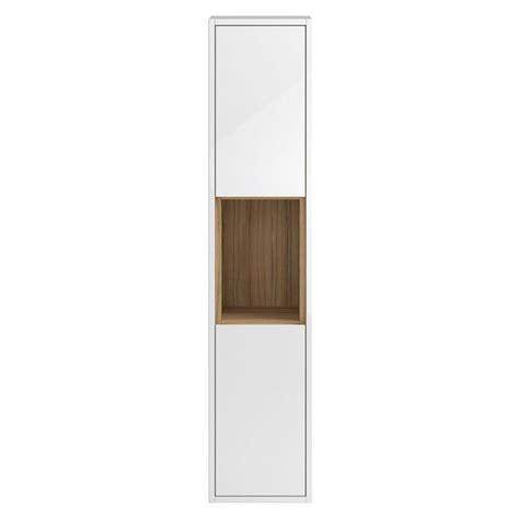 wall hung tall bathroom cabinets coast 350mm wall hung tall bathroom storage cabinet buy