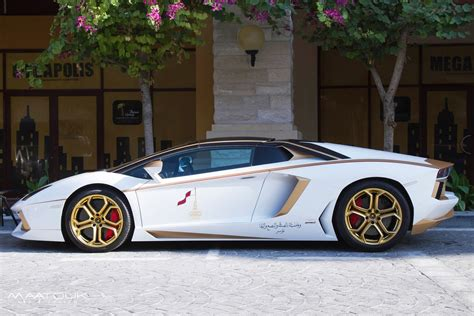 gold plated lamborghini aventador is quot 1 of 1 quot w