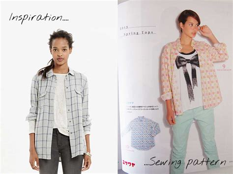 japanese pattern shirt planning and sewing clothes for me made may sew in love
