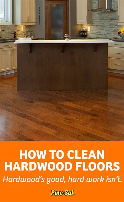 How to Clean Hardwood Floors   Pine Sol®