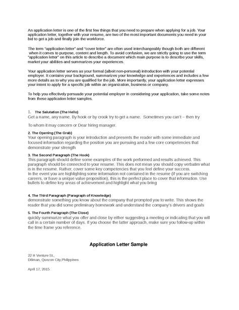 application letter for fresh graduate math application letter for the fresh graduates docsity
