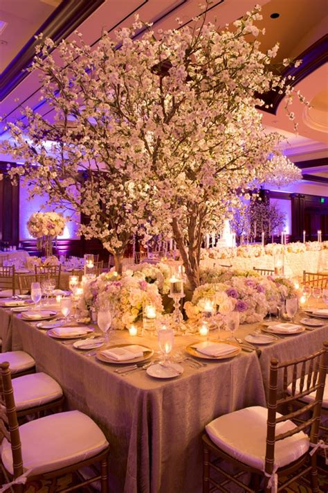 cherry blossom table decorations reception d 233 cor photos table with cherry blossom tree